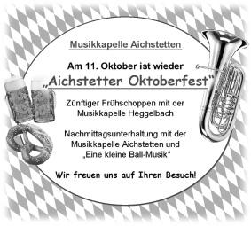 Voranzeige MKA Oktoberfest