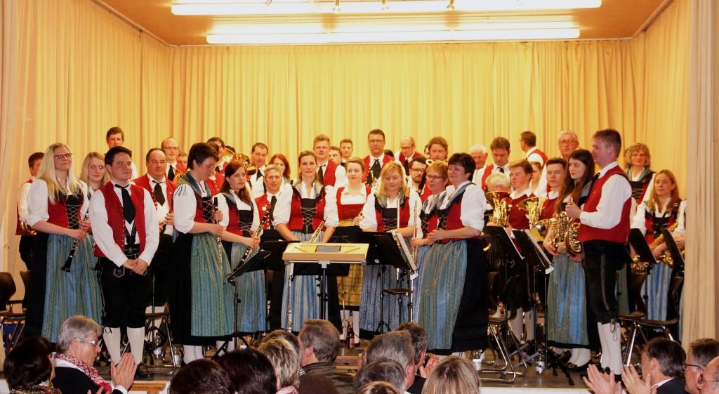 MK Heggelbach mit Dirigent Rafael Ohmayer